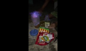 Flaming cocktail is a fiery fail at Philippines party