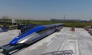 China unveils impressive 373mph maglev bullet train prototype