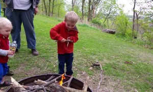 Amazing Kid Creates Fire