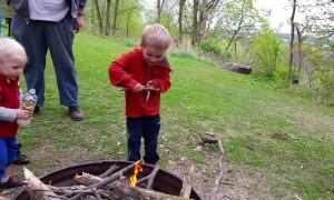 Amazing Kid Creates Fire