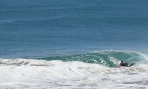Surfer Sent Soaring
