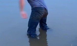 Wakeboarding the Flood Waters in Oklahoma