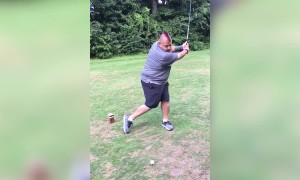 Man has Epic Golf Fail