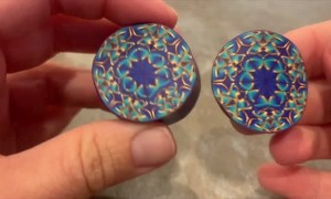 Unbelievably Colorful Clay Patterns