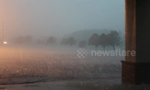 Severe storm causes flash flooding in Amarillo, Texas