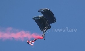 Crowd enjoys spectacular UK airshow