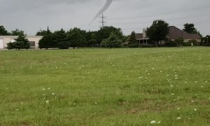 Two Twisters Touch Down in Texas
