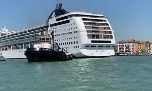 Aftermath of MSC Opera Accident