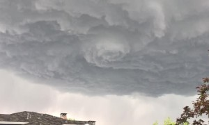 Mesmerizing Funnel Storm Cloud
