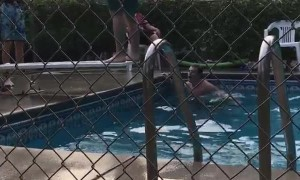 Epic Back Flip Diving Board Fail