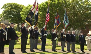 Veterans gather in Dorset to commemorate the 75th anniversary of the D-Day landings