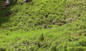 Ultimate Athleticism Displayed at the Cheese Rolling Race