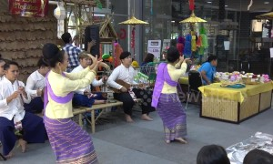 Beautiful Thai dance display