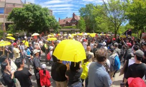 Thousands demonstrate in Toronto against Hong Kong's extradition bill
