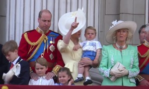 Queen's official birthday marked in London with Trooping the Colour parade