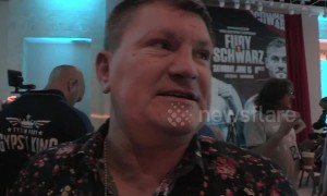 Ricky Hatton gives Tyson Fury tips for success in Las Vegas