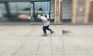 Coolest grandpa ever? 88-year-old Chinese man shows off incredible roller skating skills