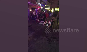 Brits come to blows outside Thai go-go bar
