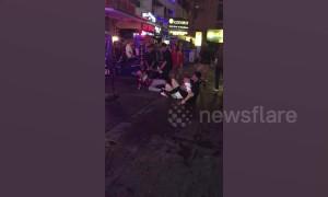 Brits come to blows outside Thai go-go bar