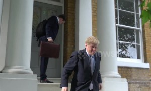 Police respond to Boris Johnson's home regarding 'welfare of female in his property'