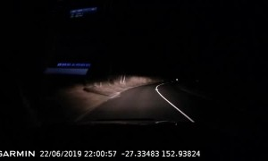 Meteor Falls Across the Australian Sky