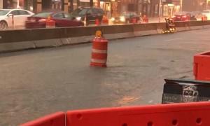 Traffic Barrier No Match Flood