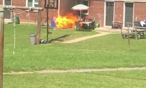 Barbecue Goes Boom
