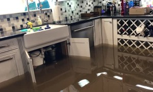 Flooded House in Harlingen
