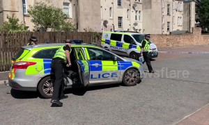 Police probe death after man allegedly 'stabbed' in Falkirk