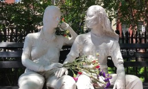 Residents in New York City commemorate 50th anniversary of Stonewall riots