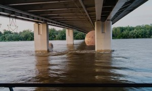 Planets Float by Under Bridge