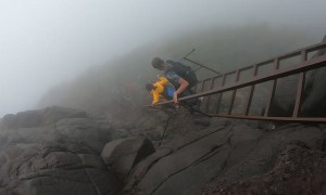 Hidden Stairs of Harishchandragad