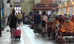 First trains in 45 years since the brutal Khmer Rouge re-open between Bangkok and Cambodia