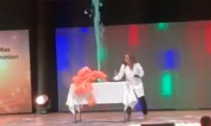 Biochemist wins Miss Virginia with awesome experiment showcasing her talent
