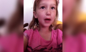 Girl Sings Made-Up Song about Pageants