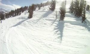 Runaway Ski Patrol Sled