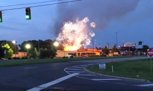 Fireworks Store Catches Fire on the 4th of July