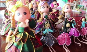 Remote village dressmakers flooded with orders for Thai silk Barbie doll costumes
