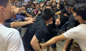 Clashes break out during anti-government Hong Kong protest