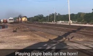 Jingle Bells on the Rails
