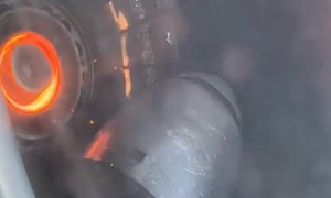 Scary Mid-Air Engine Malfunction