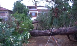 Cleanup footage reveals extent of damage after Greece storm