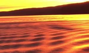 Breathtaking Scotland Sunset While Sailing
