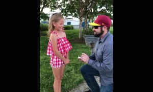 US man 'proposes' to girlfriend's daughter asking to be her dad