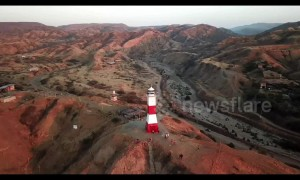 Stunning drone footage shows off panoramic views of Peru