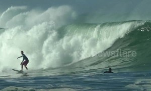 High surf warning issued in Hawaii