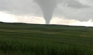 Storm Chasers Catch Tornado Touchdown
