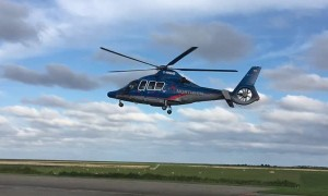 Helicopter Rises Without Moving Its Rotor