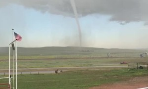 Wyoming Tornado Touches Down