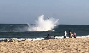 Emergency Landing in Ocean City